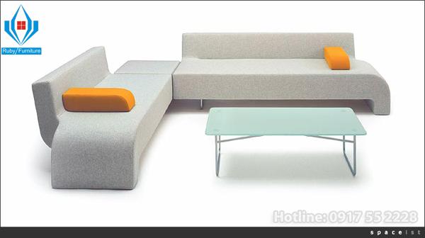 Sofa vải cho mùa hè oi ả chỉ có ở nội thất ruby hotline: 0917.55.2228